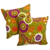 "18"" Outdoor Throw Pillow - Patterned Fabric (Set of 2)"