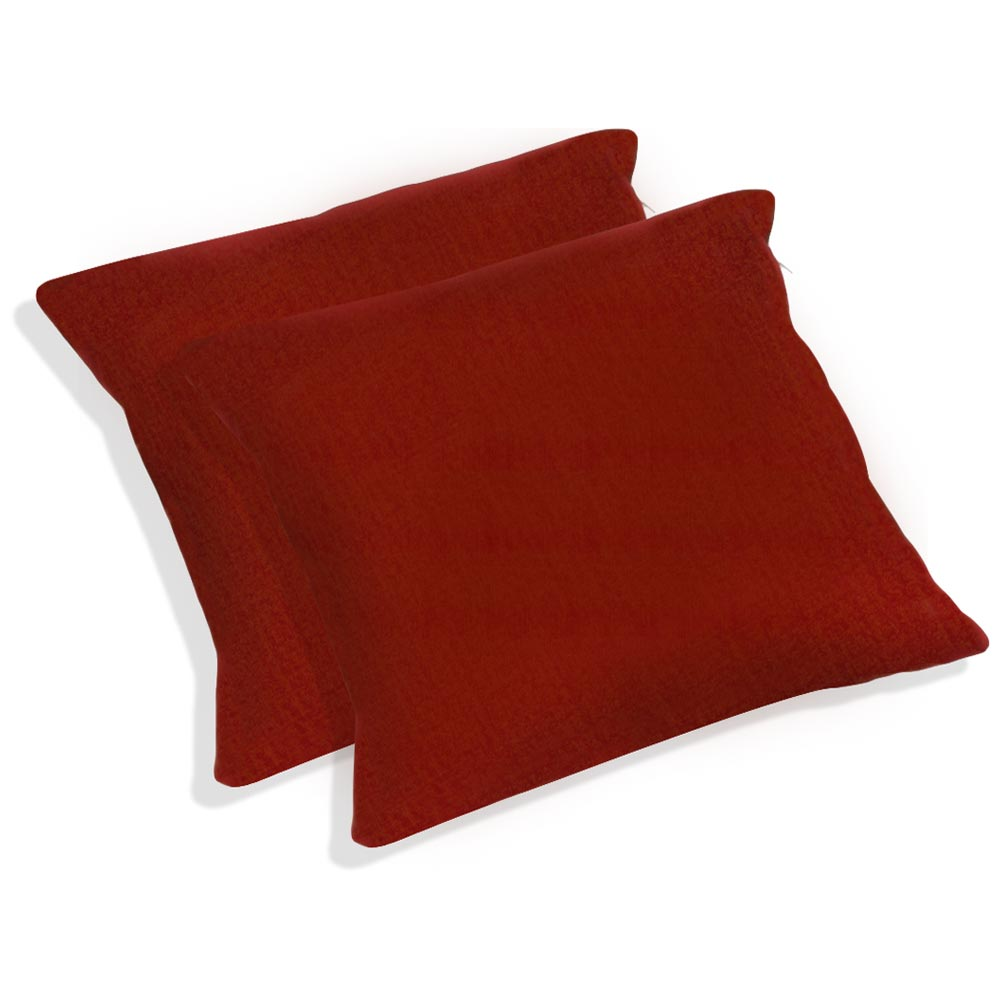 "20"" Outdoor Throw Pillow - Solid Color Fabric (Set of 2) - BLZ-9920-S-2-REO-S"
