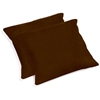 "25"" Outdoor Jumbo Throw Pillows - Solid Color Fabric (Set of 2) - BLZ-9940-S-2-REO-S"