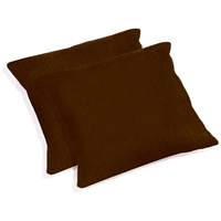 "25"" Outdoor Jumbo Throw Pillows - Solid Color Fabric (Set of 2)"