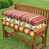 Double Glider Outdoor Cushion in Solid or Print Outdoor Cover - BLZ-9TT-2B-017-REO
