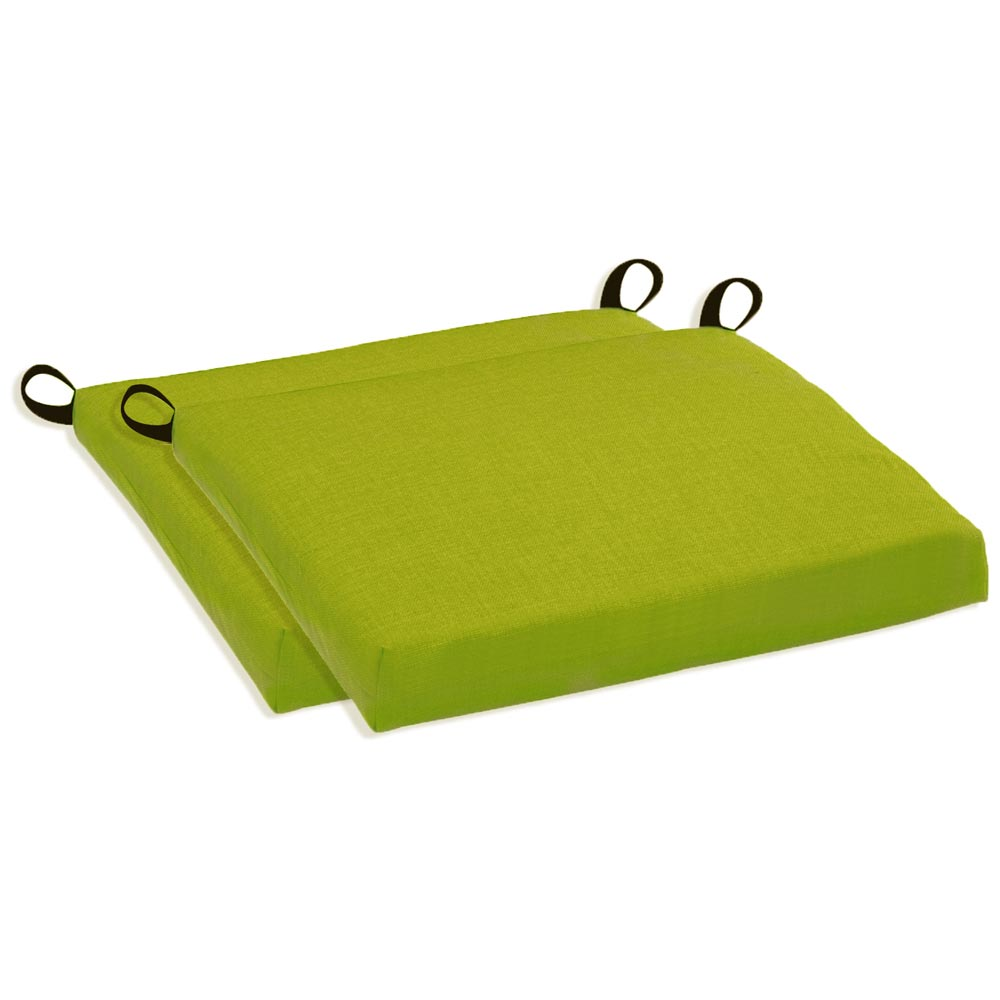 Outdoor Folding Bar Chair Cushion   Solid Color Fabric (Set Of 2)