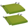 Outdoor Folding Bar Chair Cushion - Solid Color Fabric (Set of 4) - BLZ-9TT-BC-007-4CH-REO-S
