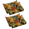 Outdoor Folding Bar Chair Cushion - Patterned Fabric (Set of 4) - BLZ-9TT-BC-007-4CH-REO