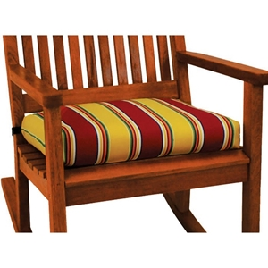 Royal Tahiti 20 x 19 Rocker Cushion in Print or Solid Cover