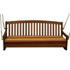 Royal Tahiti Wooden 3-Seater Patio Swing - INTC-TT-SW-006-3