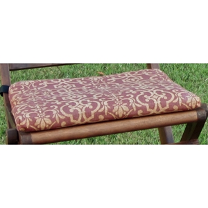 18 x 16  Chair Cushion in Solid or Print Cover (Set of 2)