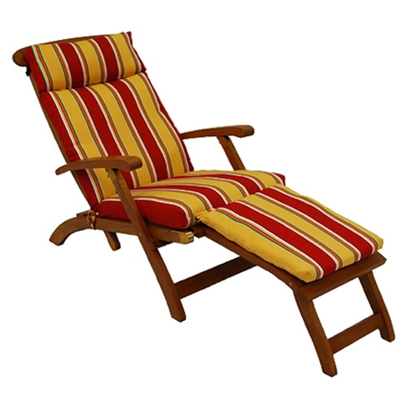 Folding Chaise Lounge All Weather Cushion Dcg Stores