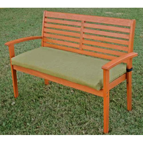 42 Inch 2-Seater Bench Cushion with Solid Cover - BLZ-9VF-4306-REO-SOL