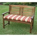 42 Inch 2-Seater Bench Cushion with Mix Pattern Cover - BLZ-9VF-4306-REO