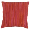 "20"" Throw Pillows in Red Palette with Rainbow Yarn Threading (Set of 2) - BLZ-IE-20-YRN-S2-MX-3"