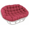 78'' x 58'' Outdoor Fabric Tufted Double Papasan Cushion - BLZ-93304-OV-REO-SOL
