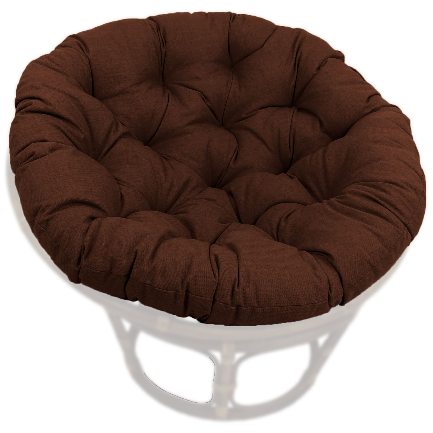 46 Inch Outdoor Fabric Tufted Papasan Cushion