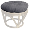 Microsuede 18 Inch Tufted Ottoman Cushion - BLZ-93301-MS