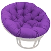 52 Inch Solid Twill Tufted Papasan Cushion - BLZ-93302-52-SOL