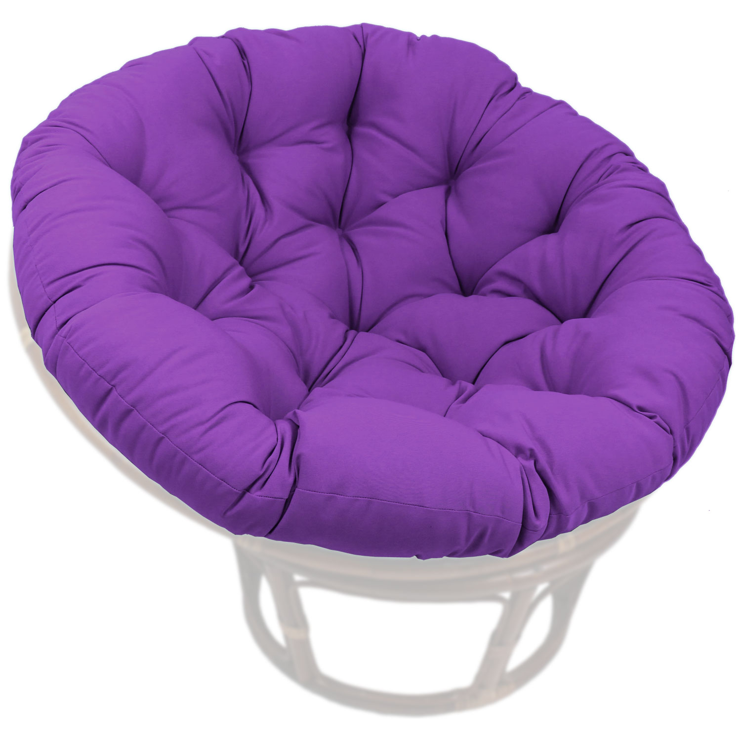 52 Inch Solid Twill Tufted Papasan Cushion Dcg Stores