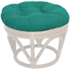 Outdoor Fabric 18 Inch Tufted Ottoman Cushion - BLZ-93301-REO-SOL
