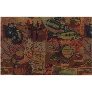 Gone Fishing Tapestry Futon Cover