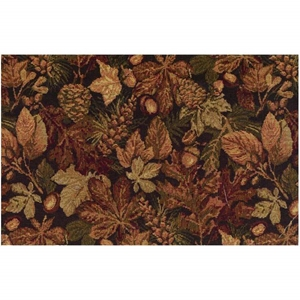 Autumn Harvest Tapestry Full Size Futon Cover with 2 Pillows