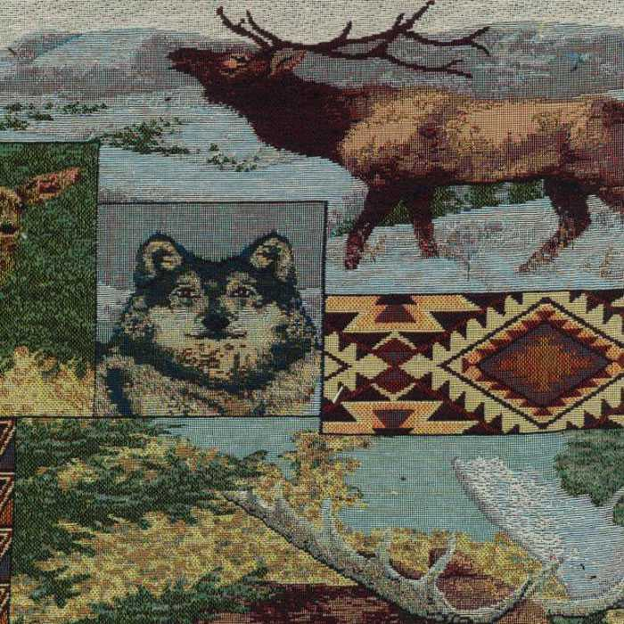 The Wild North Tapestry Futon Cover