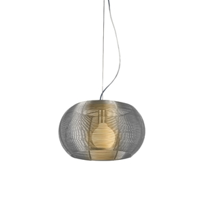 Lenox Modern Pendant Lamp - Aluminum, Stainless Steel, Spherical