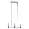 Talon Modern Pendant - 3 Lights, Chrome Finish - BROM-B2703