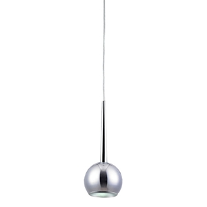 Ashland Mini Pendant Light - Chrome, Metal