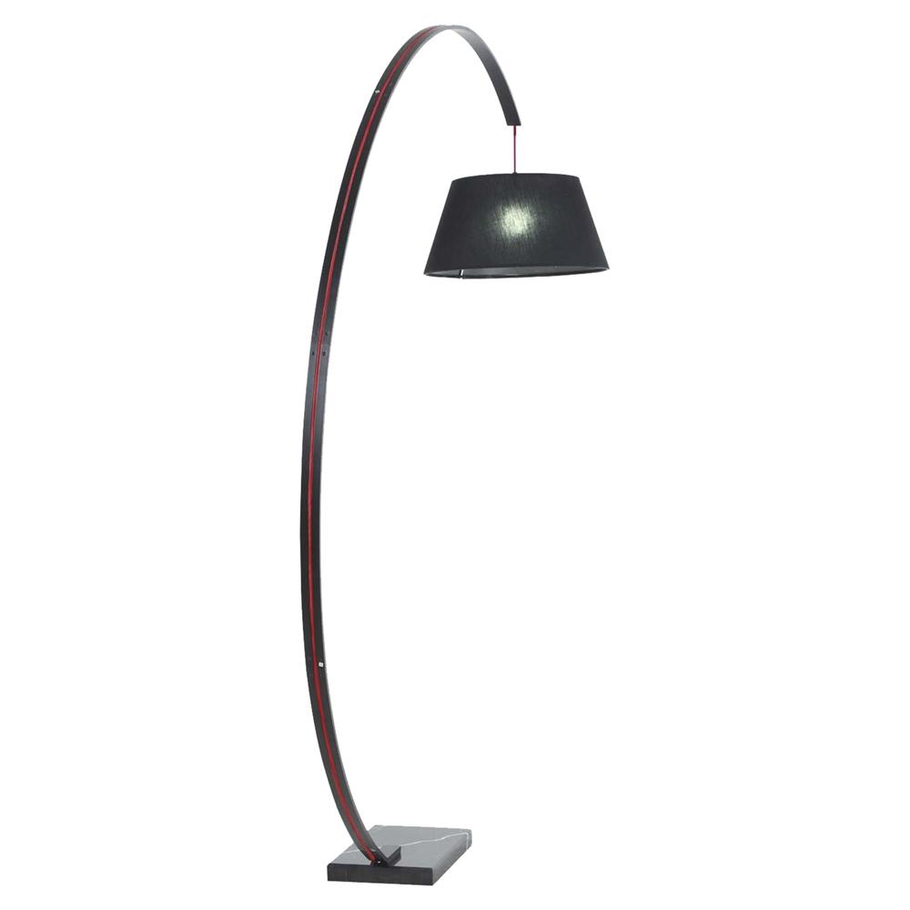 Liberty Modern Floor Lamp Black Dcg Stores