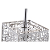 Metropolitan 1 Light Pendant - Chrome, Crystals - BROM-B8202S
