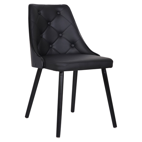 Addison Dining Chair Black Leather Look Tufted DCG Stores : bf2710bl from www.dcgstores.com size 500 x 500 jpeg 49kB