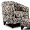 Bixby Accent Chair - Turning Leaf Earth Fabric - CHF-159820-C-TL