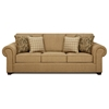 Sussex Sofa Set in Burbank Ochre Fabric - CHF-SUSSEX-SET