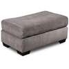 Almeda Rectangular Ottoman - Heather Seal Fabric - CHF-181237-8900