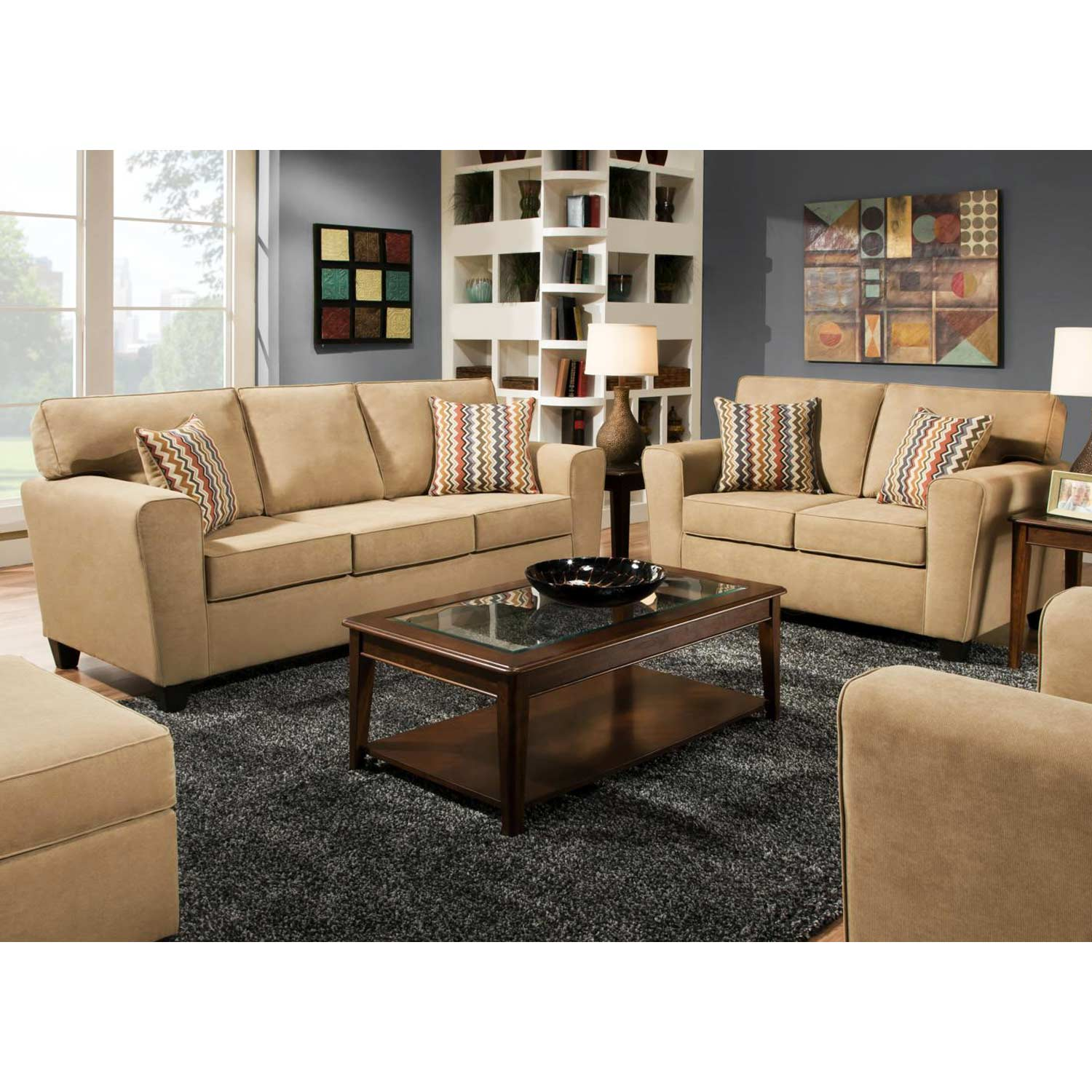 Half Furniture Outlet In Beaumont Franklin Living Room Chair And A Half U81788 Thomasville