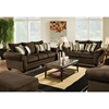 Clearlake Roll Arm Fabric Sofa - Waverly Godiva - CHF-183703-3920