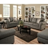 Camden Roll Arm Upholstered Sofa - Romance Graphite - CHF-183753-5750