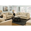 Del Mar Tufted Loveseat - Beijing Toast Fabric - CHF-184502-8046