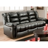 Orleans Upholstered Reclining Sofa - New Era Black - CHF-185503-4801