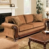 Jefferson Sofa - Bracket Feet, Balvenie Tobacco Fabric