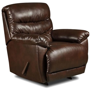 Maine Reclining Chair - Tonto Espresso Leather