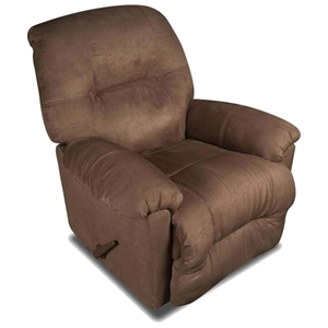 Wyoming Transitional Recliner - Calcutta Chocolate Fabric