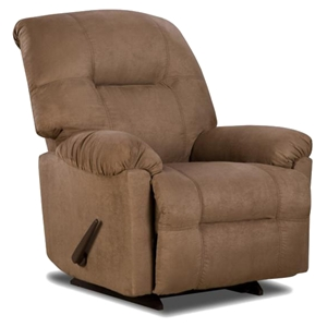 Wyoming Transitional Recliner - Calcutta Camel Fabric