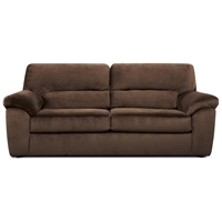 Baltimore Padded Sleeper Sofa - Cumulus Beluga Fabric