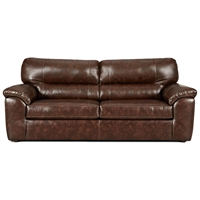 Dorchester Leather Sleeper Sofa - Cheyenne Cafe