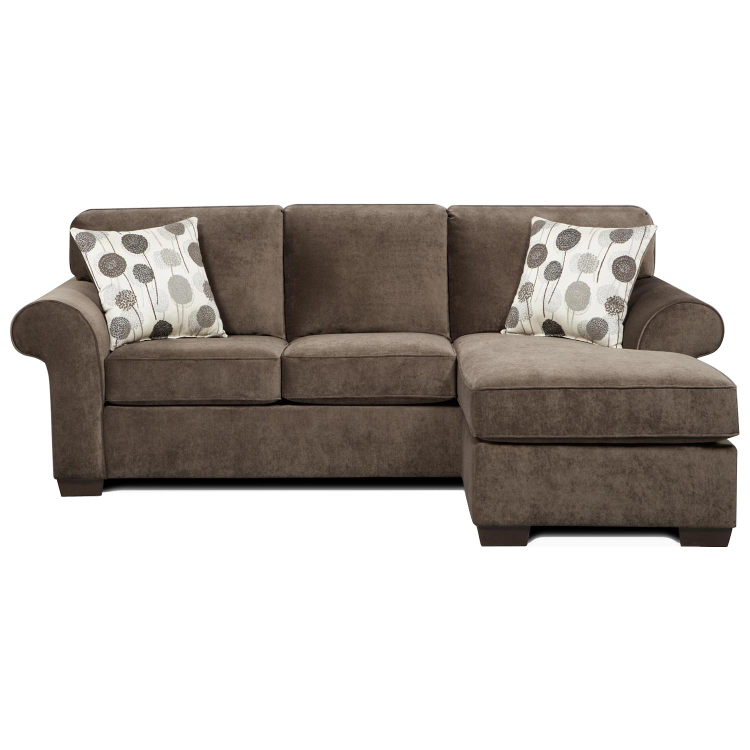 Sofa Sleeper Chaise: Worcester Transitional Sleeper Sofa Chaise