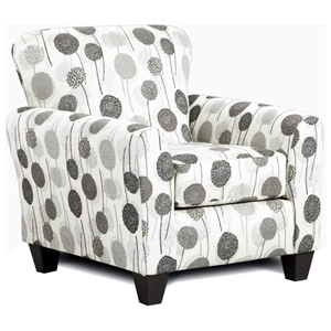 Worcester Fabric Accent Chair - Wonderland Ash