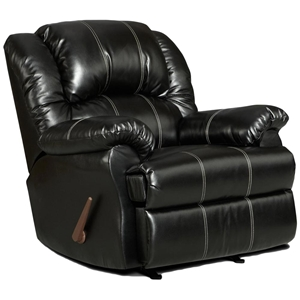 Ambrose Rocker Reclining Chair - Taos Black Leather