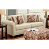 Essex Sleeper Sofa with Accent Pillows - CHF-FS2204-SL