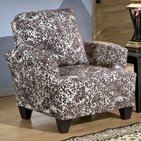Maple Accent Armchair - Meerkat Mink Fabric