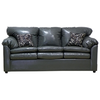 Maple Upholstered Sleeper Sofa - Toss Pillows, Bolero Gray
